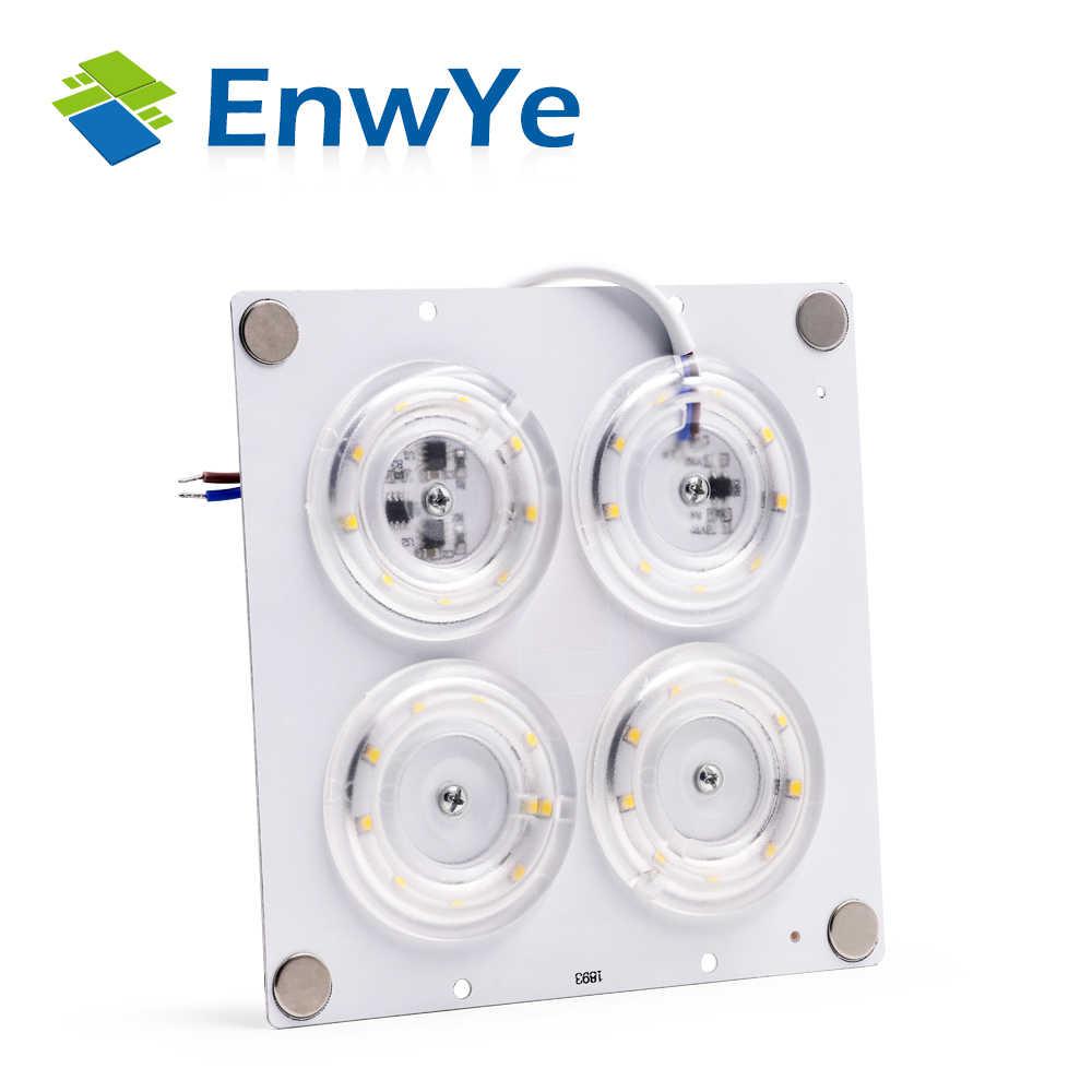 EnwYe LED תקרת אורות AC220V הוביל שבב נהג אין צורך 12 W 24 W 36 W 45 W ומודול Led החלפת חיסכון באנרגיה מנורות