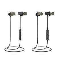 NEW Popular X650BL Wireless Bluetooth Headphone IPX5 Waterproof Sport Noise Cancelling CVC6 0 Earphone Headset Neckband