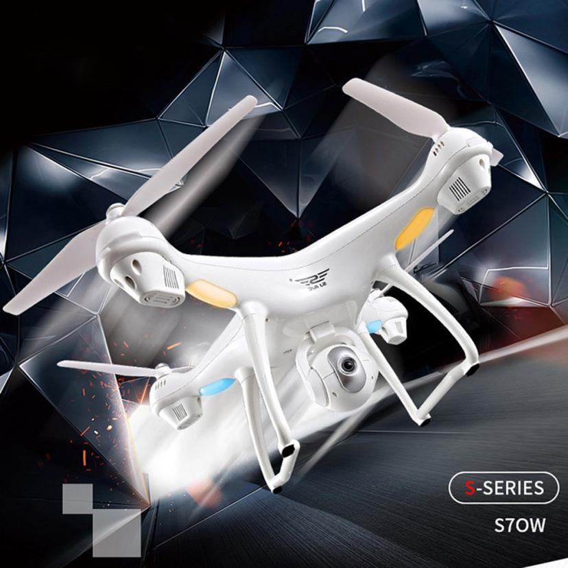 S70W Wifi FPV Quadcopter 2.4GHz GPS FPV Drone Quadcopter with 1080P HD Camera Wifi Headless Mode Colorful LED lights cool flying все цены