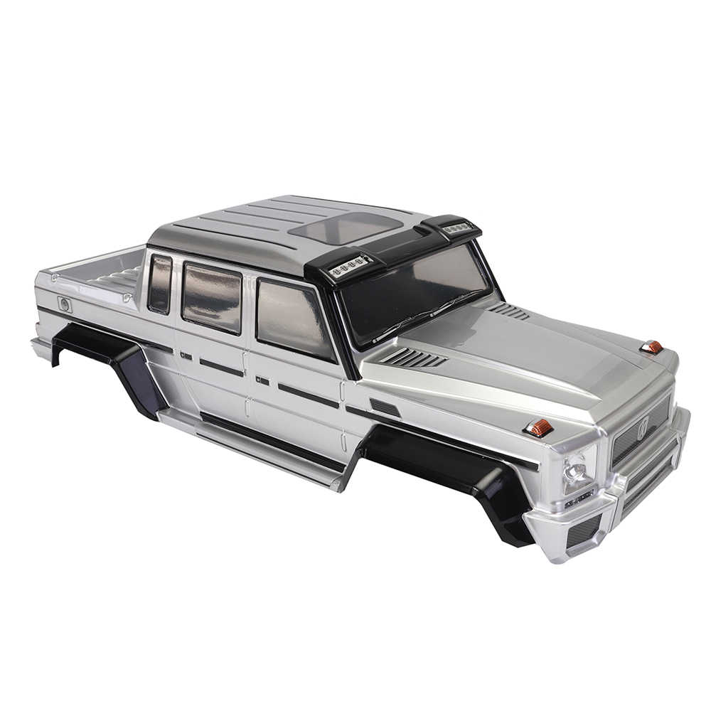 Killerbody HORRI BULL серебро RC корпус автомобиля для 1/10 осевой 2012 Rubicon пульт дистанционного управления автомобиля
