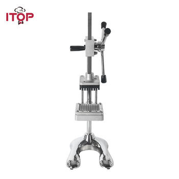 ITOP Vertical Potato Chip Carrot Shredding Machine Vegetable Fruit Cutter Slicer Manual French Fries Kitchen Tools