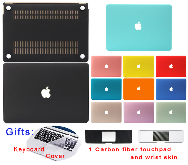 Matte Surface For Macbook Air 13 Case Air 11 13 Pro 13 15 12 Retina Hard Cover Protective Shell