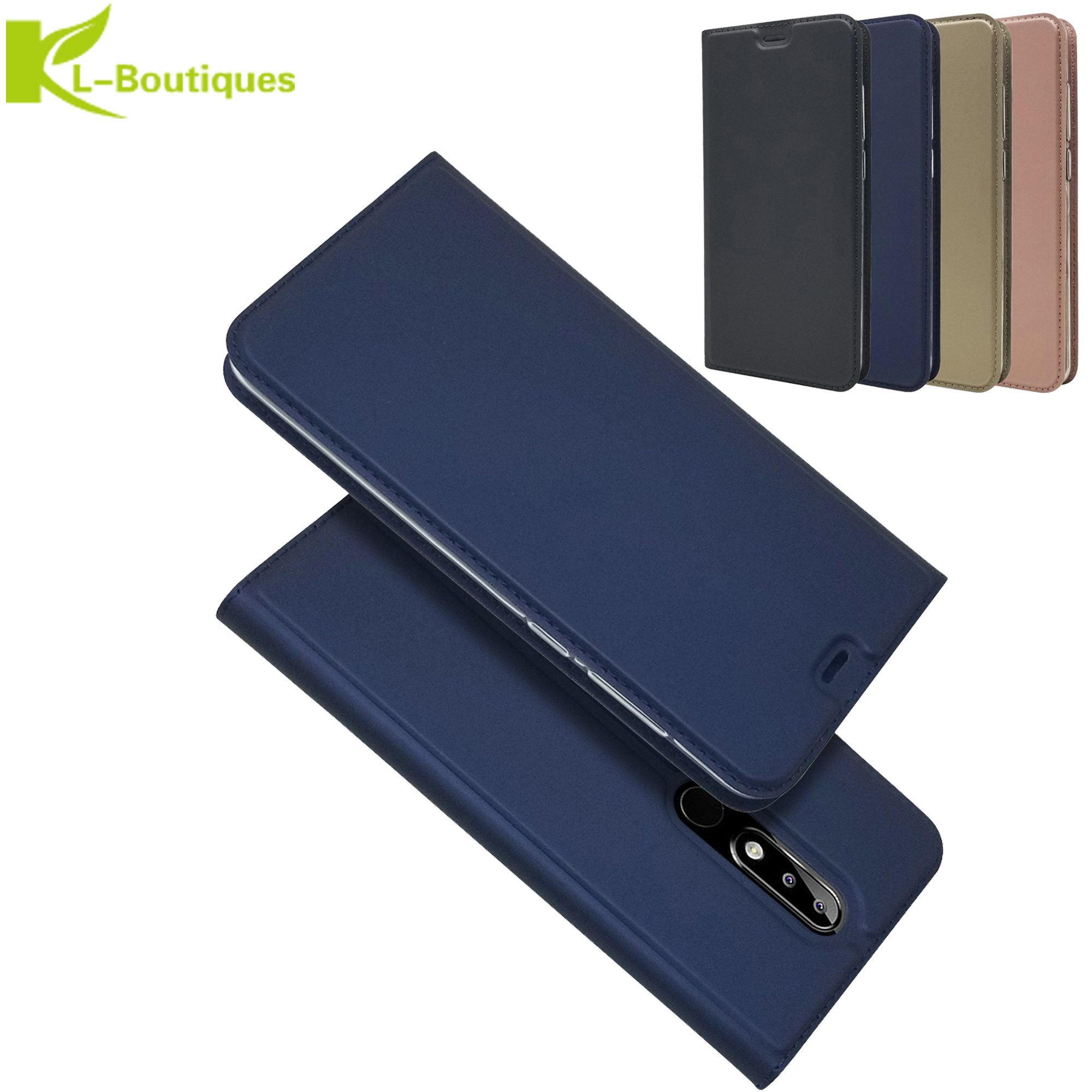 Slim Magnetic Case Coque For <font><b>Nokia</b></font> <font><b>5</b></font> <font><b>TA</b></font>-<font><b>1053</b></font> <font><b>TA</b></font>-1024 cover For <font><b>Nokia</b></font> <font><b>5</b></font>.1 Plus X5 <font><b>TA</b></font>-1109 shell Fundas for <font><b>Nokia</b></font> <font><b>5</b></font>.1 Phone cases image