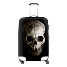 Fashion Skull Waterproof Luggage Cover Travel Accessories,Cartoon Elastic Luggage Protective DustRain Cover