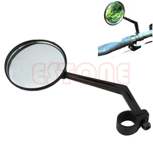QILEJVS Rotatable Road Bicycle Handlebar Bike Back View Convex Mirror Glass Rearview hot