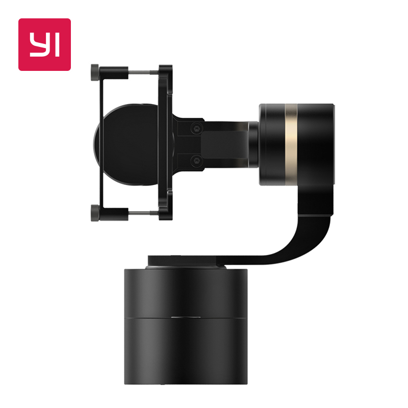 YI Handheld Gimbal 3-Axis Handheld Stabilizer for Action Camera yuneec q500 typhoon quadcopter handheld cgo steadygrip gimbal black