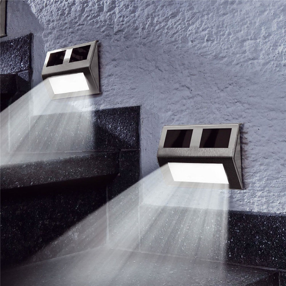 Super bright 2 LED Solar Power  Wall Light Outdoor IP65 Waterproof Energy Saving Street Yard Path Home Garden Security Lamp|Solar Lamps| |  - title=