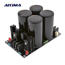 AIYIMA аудио усилители выпрямителя для защиты доска 100V 10000 мкФ высокое Мощность фильтра выпрямителя тока Питание доска для дома Театр