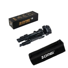 Zomei Q100 20 3-way Fluid Head Mini Table Top Tripod for Canon Nikon  SLR DSLR Camera Camcorder with Carrying Bag