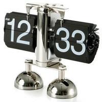 Flip The Alarm Clock The Feet Balance Flip Clock Bedroom Clock Creative Alarm Clock