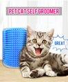 Щетка для груминга домашних животных, инструмент для груминга кошек, удаление шерсти, расческа для собак и кошек