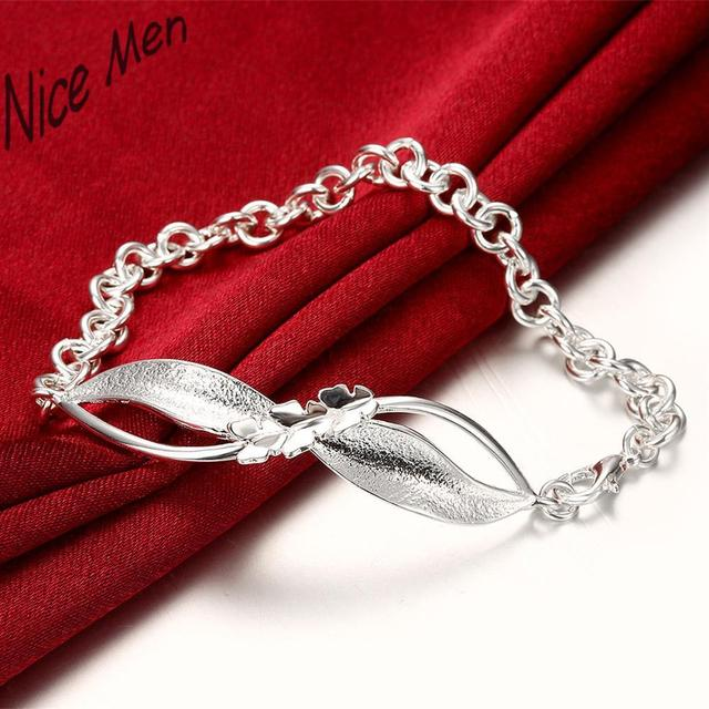 cute bangels H423 Free Shipping Latest Women Classy Design silver bracelet Factory Direct Sale