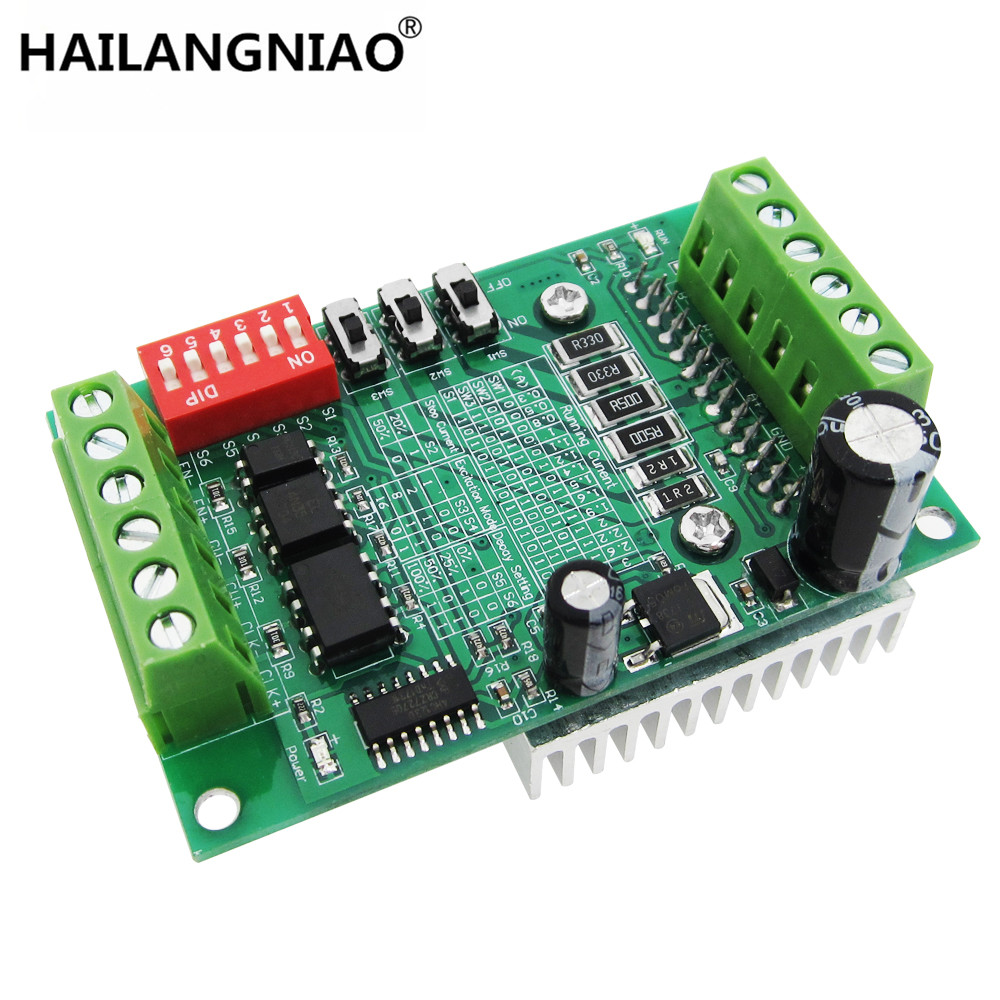 TB6560 3A stepper motor driver stepper motor driver board axis current controller 10 files new original TB6560AHQ nema24 3nm 425oz in integrated closed loop stepper motor with driver 36vdc jmc ihss60 36 30