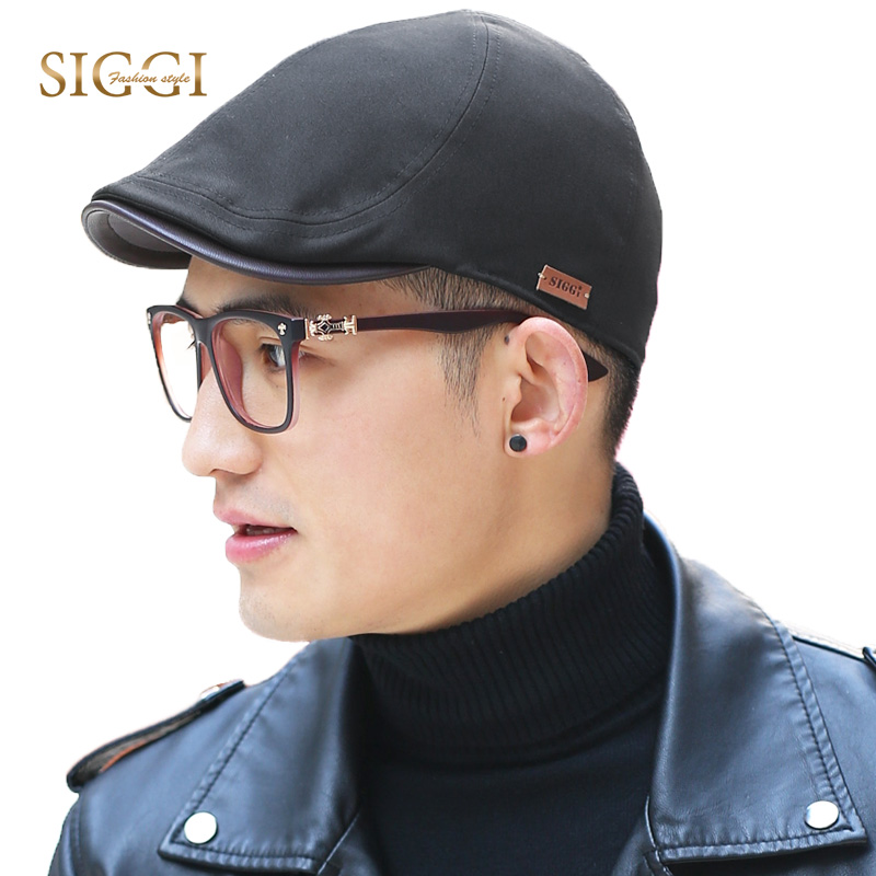 SIGGI Spring Summer Men Peaked Caps Soli