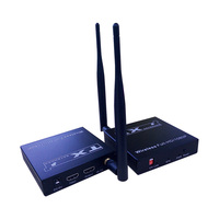 60 м HD 1080 P HDMI 1.3 Беспроводной HDMI Extender для HDTV 3D WiFi HDMI отправитель приемник передатчик до 60 м Поддержка HDCP1.2