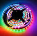 5M/lot  Waterproof IP67 30led/meter WS2812 WS2811 IC 5V 5050 SMD Addressable Ditigal Dream color RGB LED Strip Full Colors
