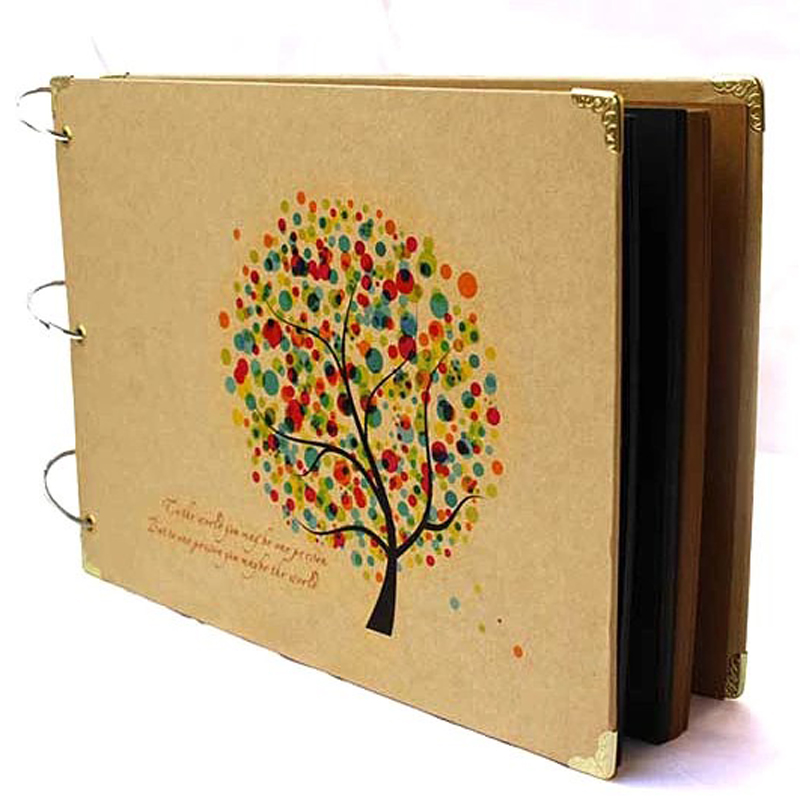New 10 Inch Diy Wedding Photo Album Handmade Vintage Baby
