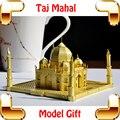 Новый Год Подарок Тадж-Махал 3D Металл Модель Здания Комплект Рамка сплава Почти Совершенный Дизайн Домашнего Украшения Подробно Smart Work настоящее