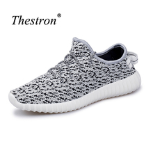Man Women Sneakers Sports Shoes White Beige Green Brand Jogging Sneakers Walking Trainers Big Size 36-46 Couples Shoes