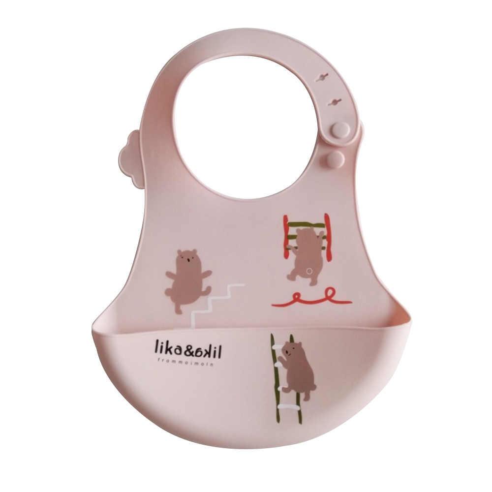 MrY ילדי סיליקון רוק תינוק אכילת סינר עמיד למים אורז קערת תינוק רך חד פעמי כיס תינוקות באיכות מזון מגבת יילוד