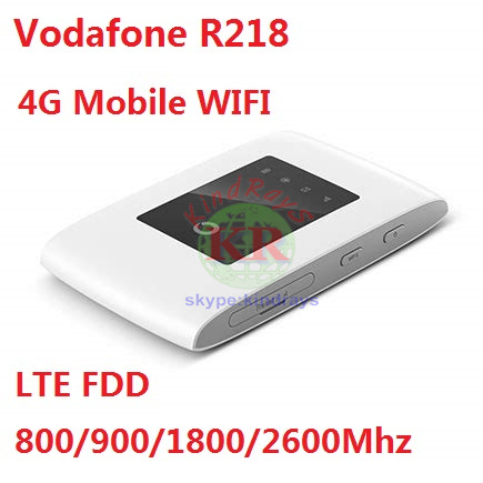 US $36 75 25% OFF|Vodafone R218 4G Mobile WiFi Hotspot 150Mbps FDD  800/900/1800/2600 PK E5573 E5370-in 3G/4G Routers from Computer & Office on