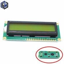 10 шт. LCD1602 ЖК 1602 Желтый и зеленый экран с подсветкой ЖК-дисплей ЖК-1602-5V для arduino