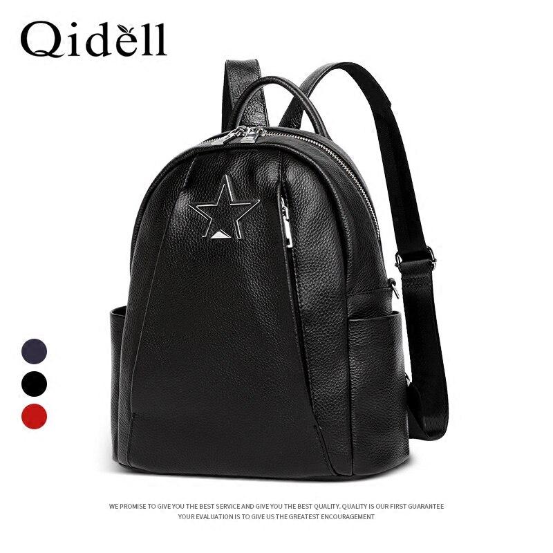 Здесь продается  Genuine Leather Softback Multi-usable Backpack for Female/ Women Shoulder Bags/ Women Backpacks  Камера и Сумки