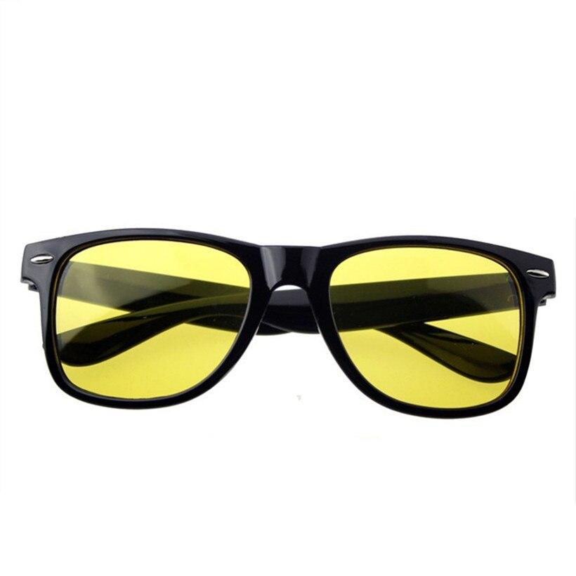 Новый Винтаж ночного вождения Очки Для мужчин Для женщин бренд Солнцезащитные очки для женщин желтый Оптические стёкла драйверы Ночное вид...