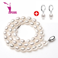ZJPEARL 2014 New Free ShIpping Natural Pearl Pendant Design Perfect Round White Freshwater Pearl In 925