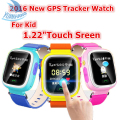 1.22 inch HD Touch Screen SOS Call Wristwatch Safe GPS LBS Location Finder Tracker for Kid Child Smart Watch Anti Lost Monitor