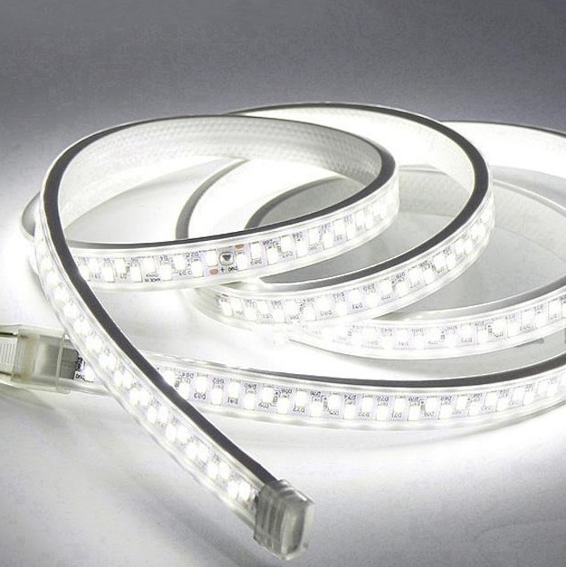 SMD 5630 LED Strip Waterproof 180Leds/m Double Row Kitchen Outdoor Garden Lamp LED Strip Light Dimmerable US AC110V