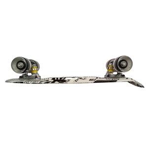 Image 4 - ¡Nuevo! Mini Tabla de Skate Original de 22 pulgadas con nuevo patrón de papel para que los patinadores disfruten de la Mini tabla cohete de skateboarding