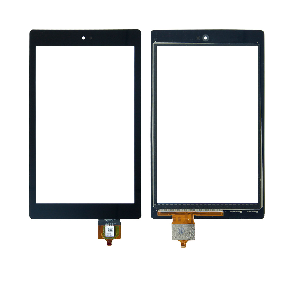 Free Shipping For Amazon Kindle Fire HD8 HD 8 6th Gen Touch Screen Digitizer Glass Replacement lcd display touch screen assembly with frame replacement for amazon 2012 kindle fire hd 7 hd7 black free shipping