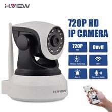H. View WiFi Sem Fio 720 P Câmera IP WiFi Câmera IP em Dois Sentidos Monitor Do Bebê de áudio Pan Tilt Câmera De Segurança Fácil Varredura QR CODE conectar