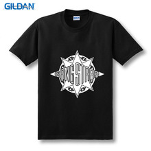 T Shirt Free Shipping MenS Crew Neck  For Gang Starr Short Gift Shirts