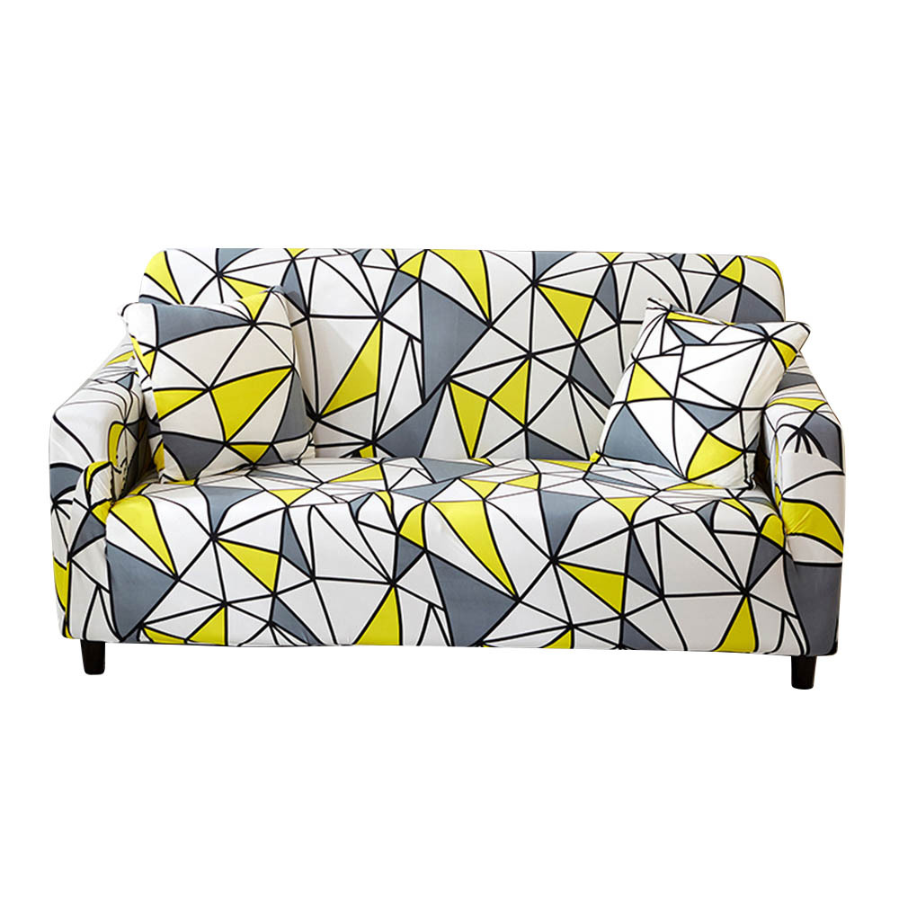 Printing Full Lounge Covers Living Room Sofa Protector Elastic Couch Cover Home Decoration Without Pillowcase