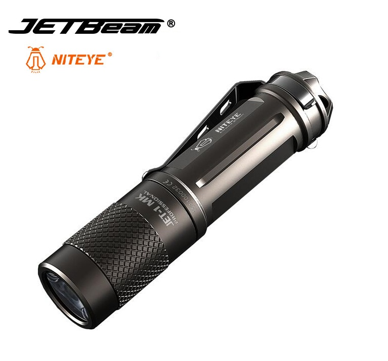Mini JETBeam JET-1 Cree XP-G2 480 Lumen Led Flashlight with Waterproof levels to IPX8 by 14500 Battery Niteye torch light thrunite th20 led headlamp 520 lumen cree xp l led head flashlight mini edc aa 14500 torch waterproof headlight
