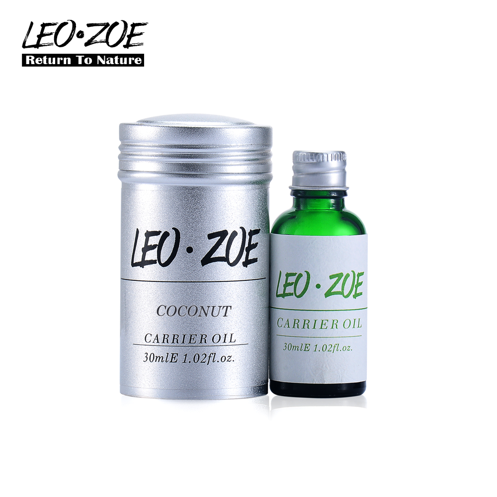 Well-known brand LEOZOE pure coconut oil Certificate origin Indonesia Authentication coconut essential oil 30ML well known brand leozoe pure castor oil certificate origin us authentication high quality castor essential oil 30ml100ml