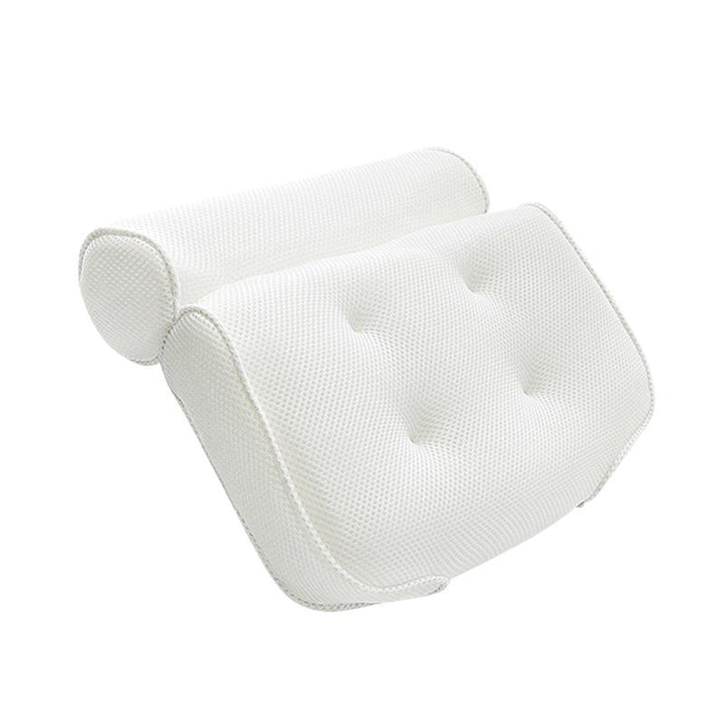 Ounona 3d malha spa banho travesseiro antiderrapante