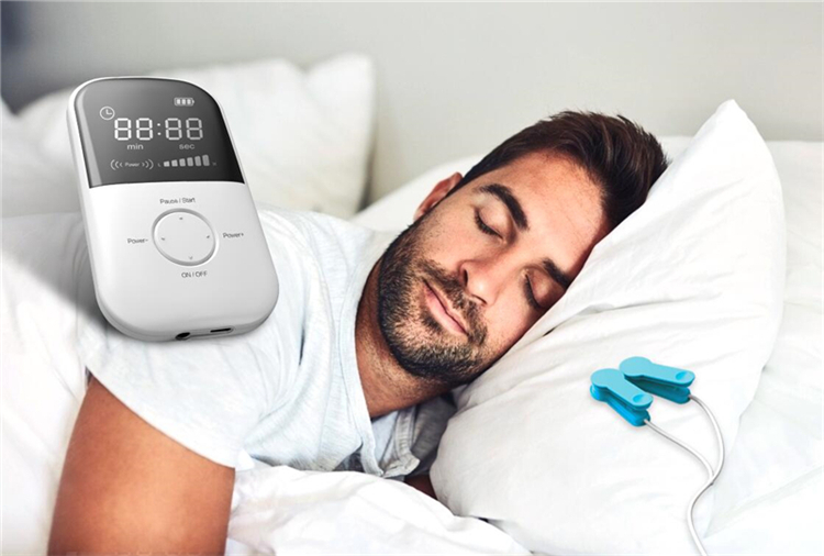 Lastek Portable home use device Relieve insomnia anxiety depression CES device for sleep better