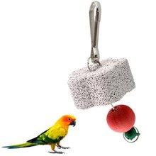 Жгут попугай птица Крыса жевательно-кусательная скребок колокол игрушка Зубы шлифовальные Budgie