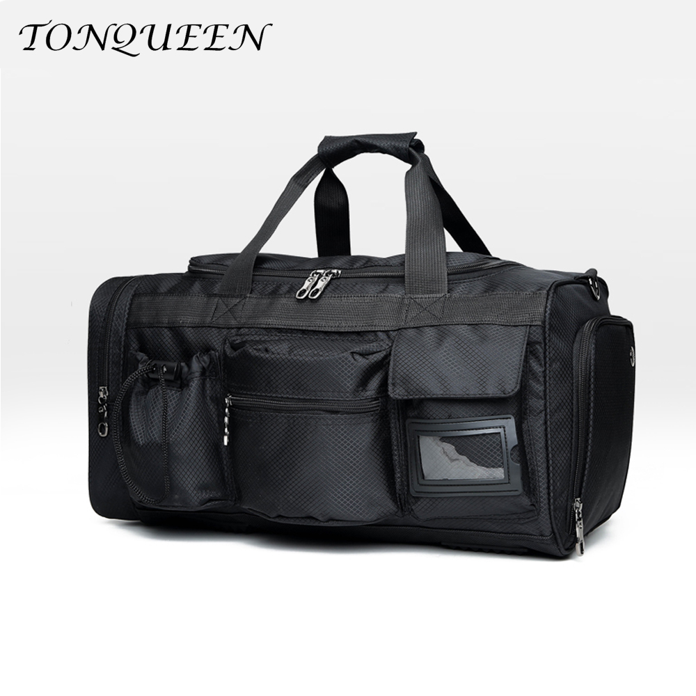 Travel Luggage Duffle Bag Lightweight Portable Handbag Sunset Pattern Large Capacity Waterproof Foldable Storage Tote