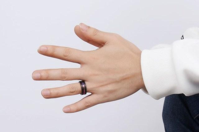 Купить кольца мужские вольфрамовые стильные ювелирные украшения для картинки