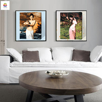 Nude Beauty Women Frameless Diy Digital Painting By Numbers Acrylic Paint Modern Wallh Art Canvas Painting