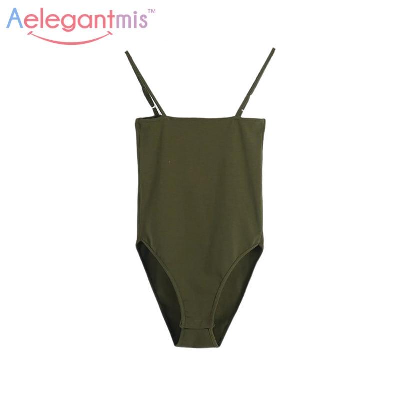 Aelegantmis Spaghetti Strap Sexy Backless Bodysuit Women 2021 Summer Bodycon Camisole Bodysuits Black White Jumpsuits Tops|bodycon bodysuit|summer romperromper bodycon - AliExpress