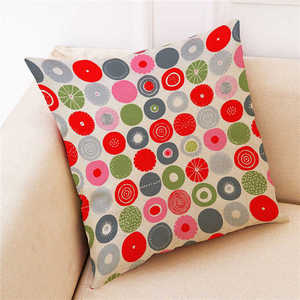 Image 5 - Colorful Pattern Pillowcases Cover Super soft fabric Home Cushion Simple Geometric Throw Bedding Pillow Case Pillow Covers