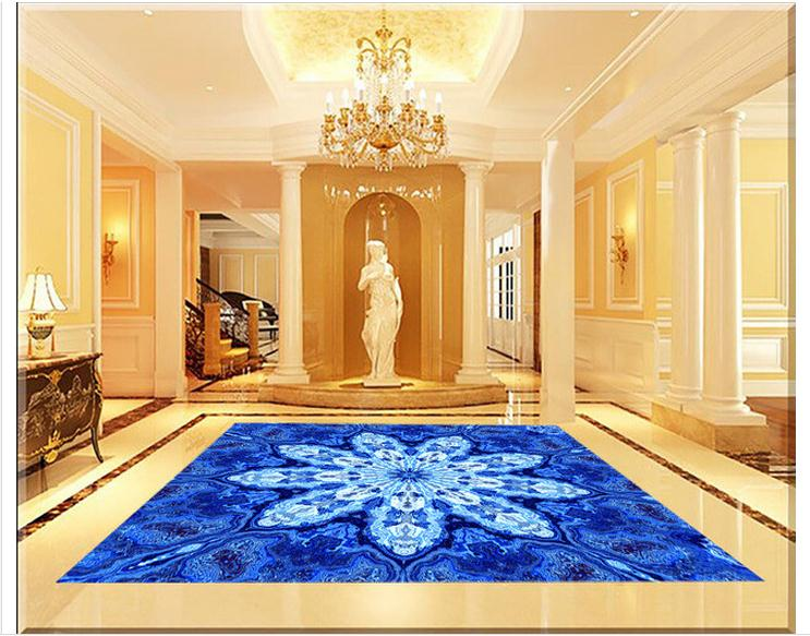 Compra suelos de mármol azul online al por mayor de china ...
