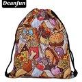 Deanfun Мода 3D Печать Высокого Качества для Женщин Drawstring Сумка SKD97