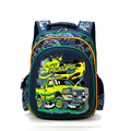 2017 NEW design Boys School Bags Dark Blue cartoon Cars Children's Orthopedic Backpack kid school backpack 4 color choose