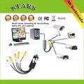 Atacado Frete grátis 4 Canais USB 2.0 placa de captura de vídeo DVR CCTV Digital Video Camera Recorder Captura Adaptador